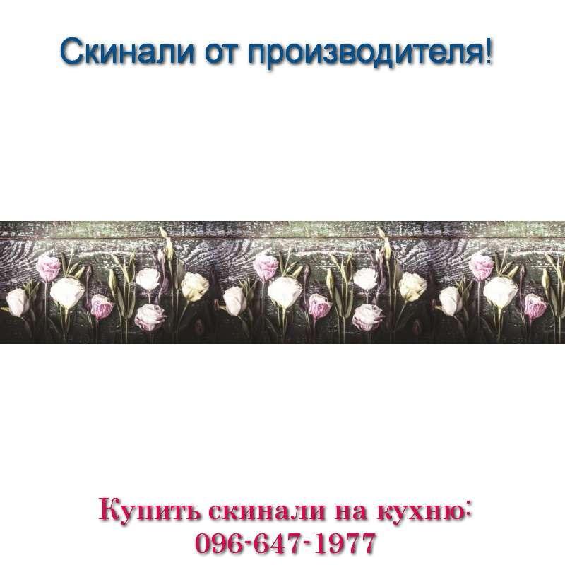 Фото скинали из МДФ - цветочки